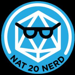 Nat20Nerd Logo