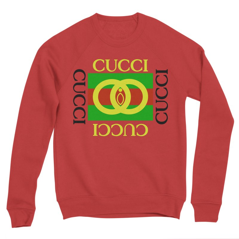CUCCI Block Men's Sweatshirt by NatalieBlaine Design