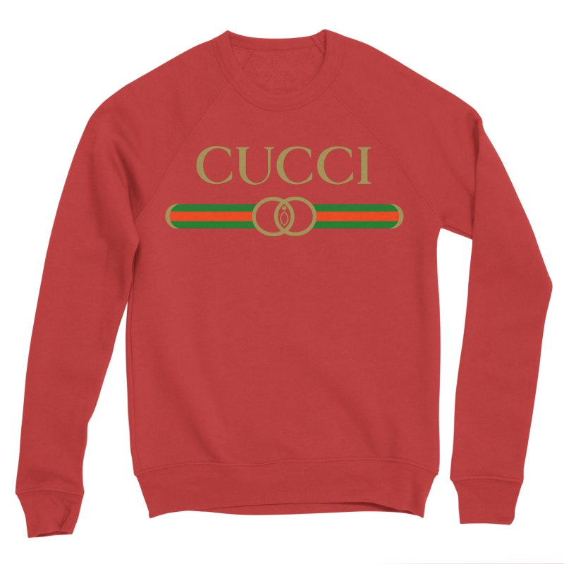 CUCCI Stripe Men's Sweatshirt by NatalieBlaine Design