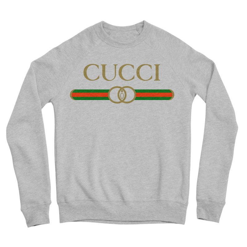 CUCCI Stripe Men's Sweatshirt by NatalieBlaine Design