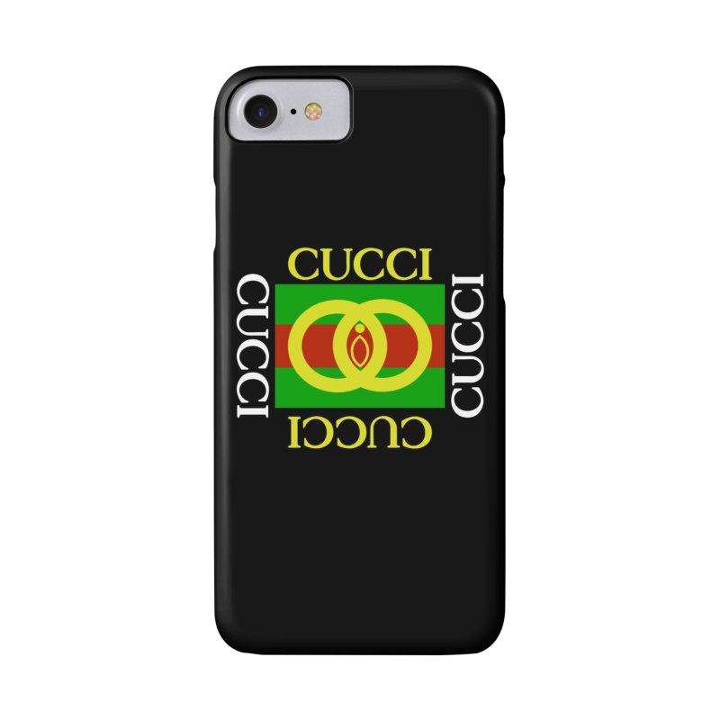 CUCCI Block White Accessories Phone Case by NatalieBlaine Design