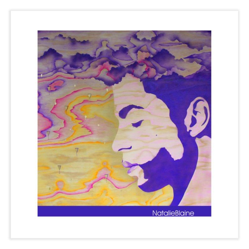 Purple Rain Home Fine Art Print by NatalieBlaine Design