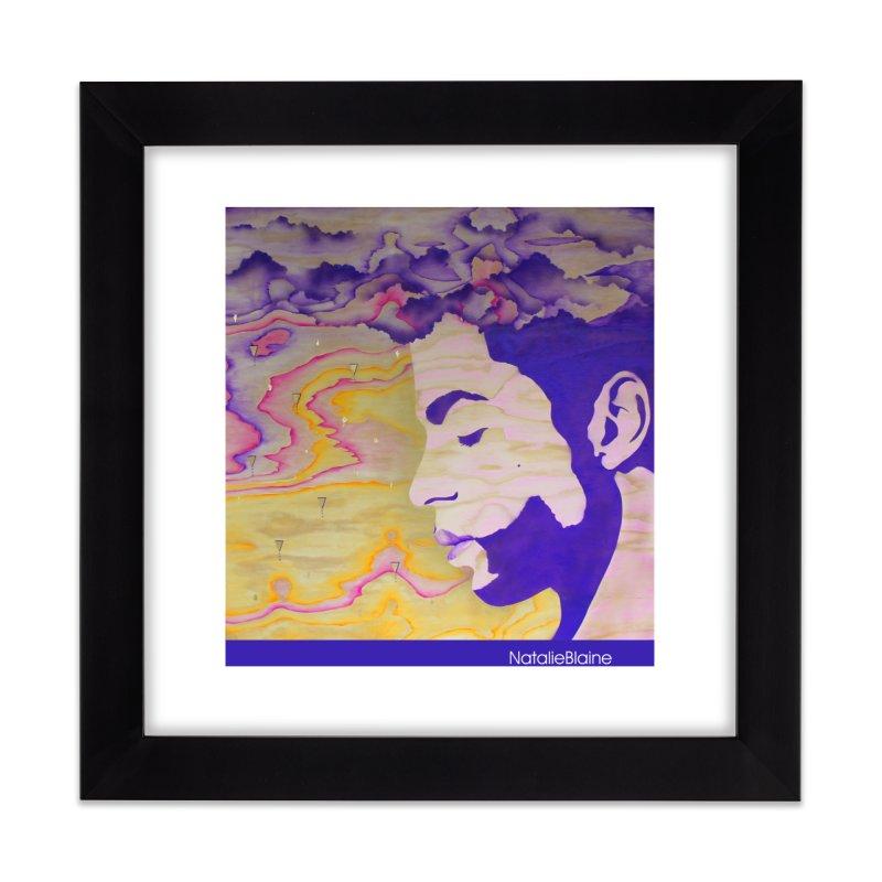 Purple Rain Home Framed Fine Art Print by NatalieBlaine Design