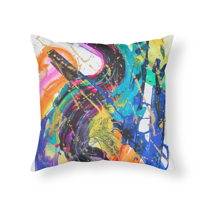 What About That Home Throw Pillow by NatalieBlaine Design