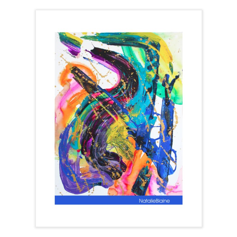 What About That Home Fine Art Print by NatalieBlaine Design