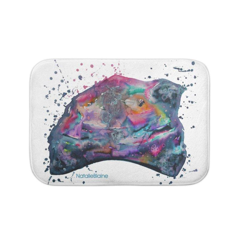 Opal Splash Home Bath Mat by NatalieBlaine Design