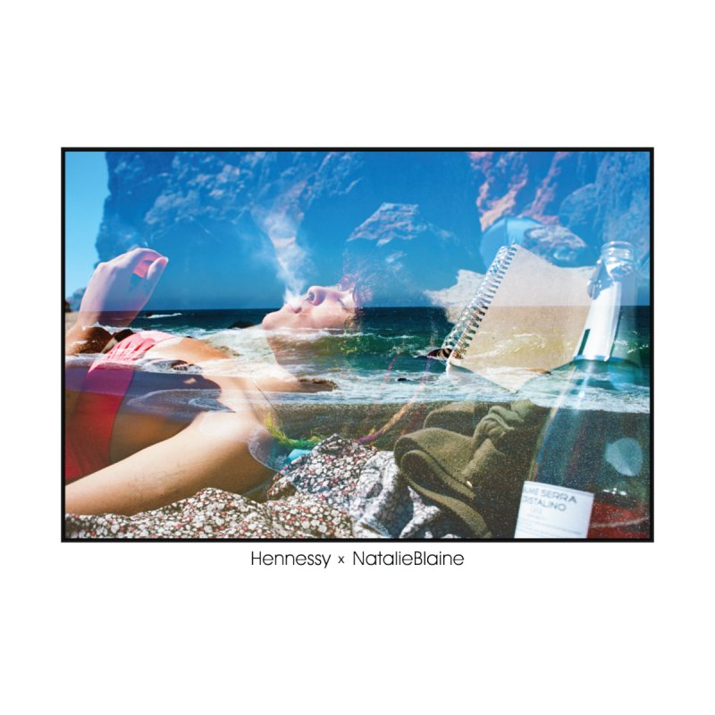 Hennessy x NatalieBlaine: Malibu Musings Men's Tank by NatalieBlaine Design