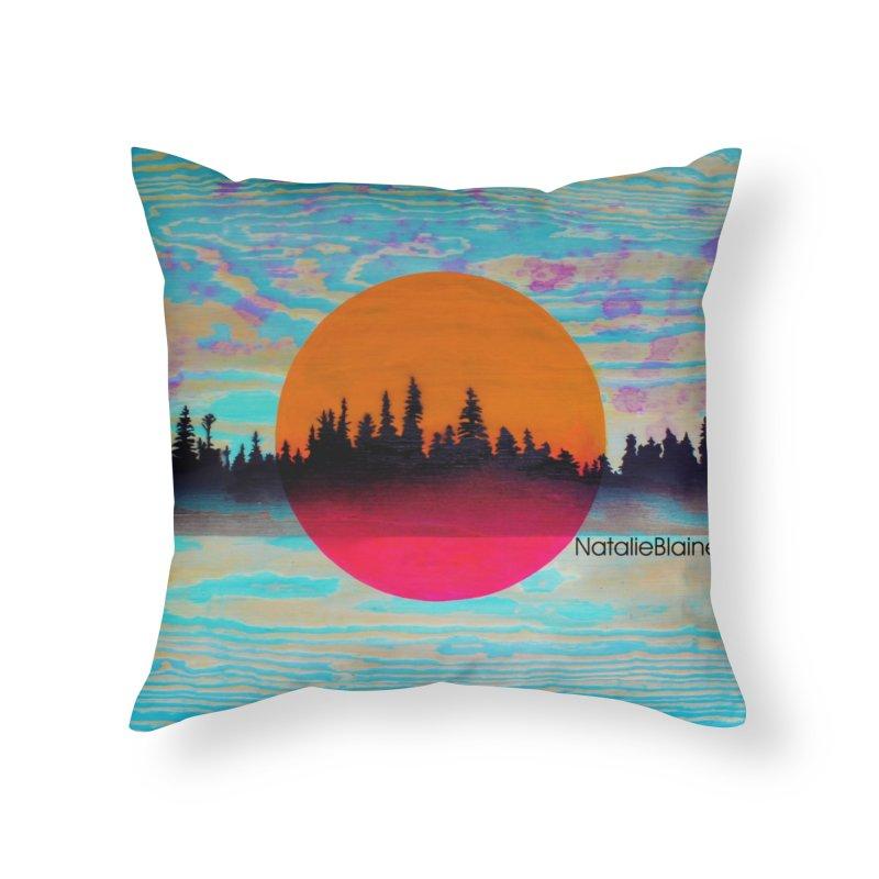 Thru the Trees Home Throw Pillow by NatalieBlaine Design