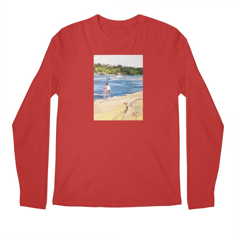 Wednesday Afternoon on Belle Isle Men's Regular Longsleeve T-Shirt by NatalieGatesArt's Shop