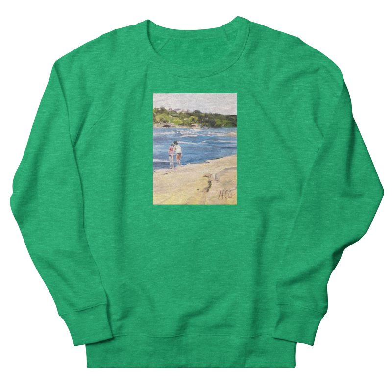 Wednesday Afternoon on Belle Isle Men's French Terry Sweatshirt by NatalieGatesArt's Shop
