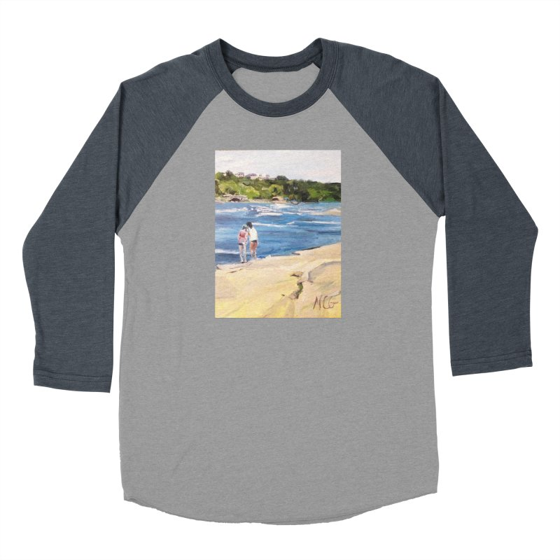 Wednesday Afternoon on Belle Isle Men's Baseball Triblend Longsleeve T-Shirt by NatalieGatesArt's Shop