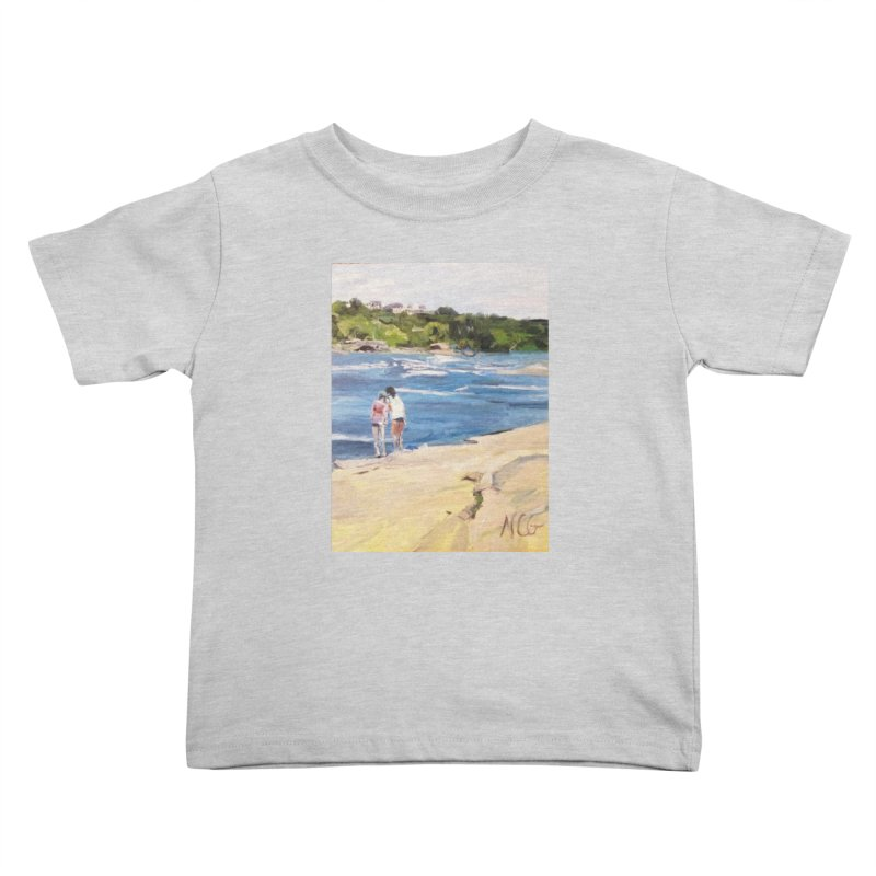 Wednesday Afternoon on Belle Isle Kids Toddler T-Shirt by NatalieGatesArt's Shop