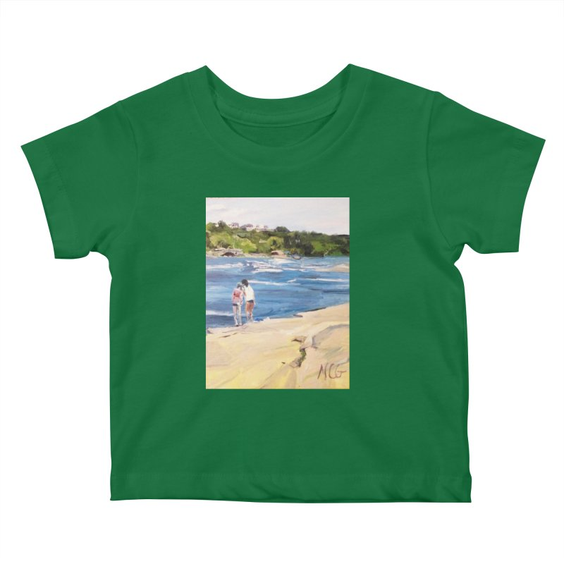 Wednesday Afternoon on Belle Isle Kids Baby T-Shirt by NatalieGatesArt's Shop
