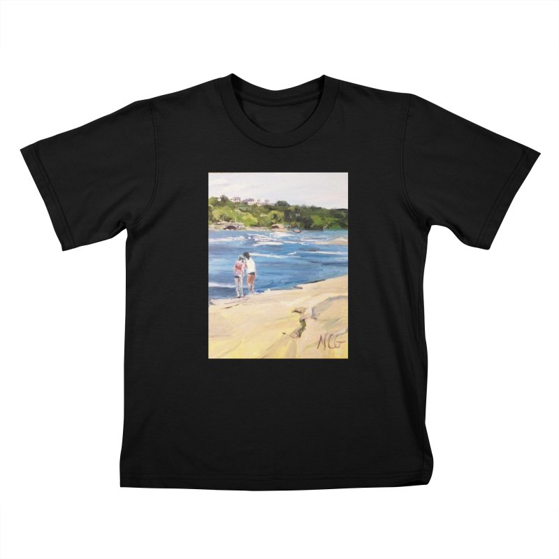 Wednesday Afternoon on Belle Isle Kids T-Shirt by NatalieGatesArt's Shop