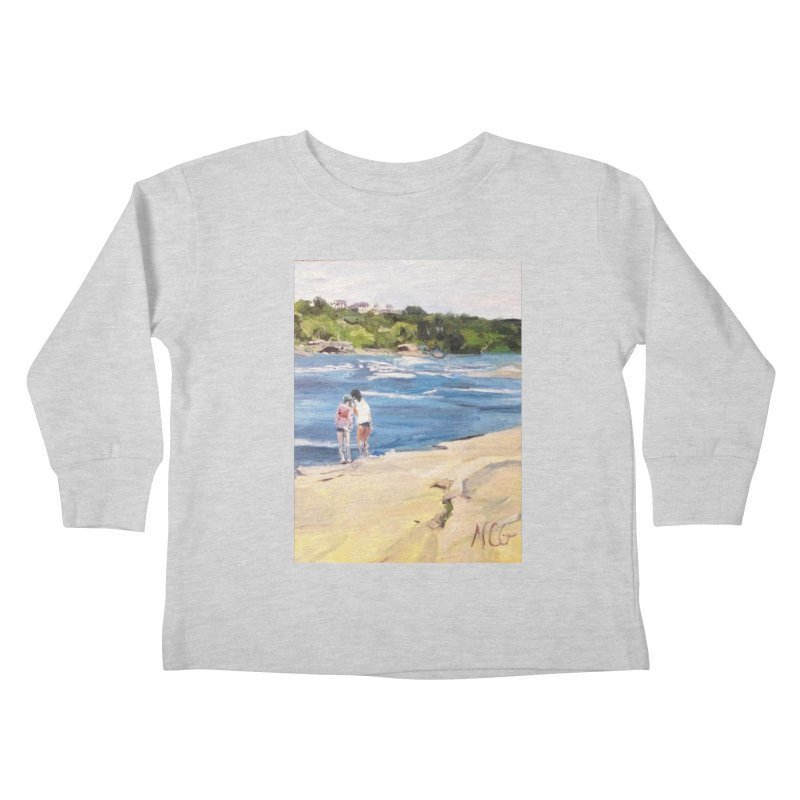 Wednesday Afternoon on Belle Isle Kids Toddler Longsleeve T-Shirt by NatalieGatesArt's Shop