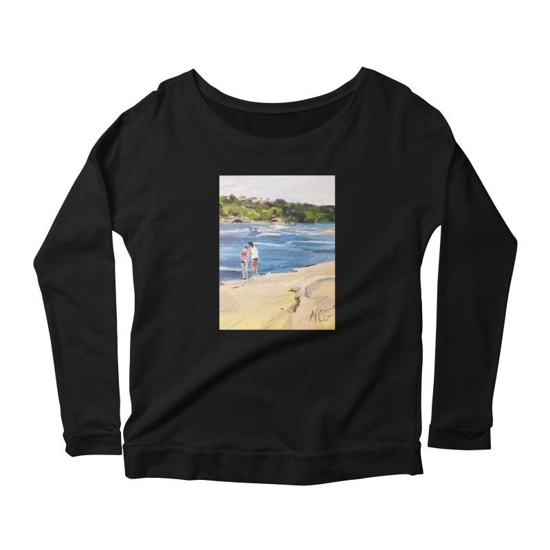 Wednesday Afternoon on Belle Isle Women's Scoop Neck Longsleeve T-Shirt by NatalieGatesArt's Shop
