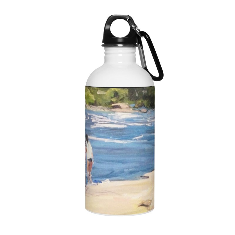 Wednesday Afternoon on Belle Isle Accessories Water Bottle by NatalieGatesArt's Shop