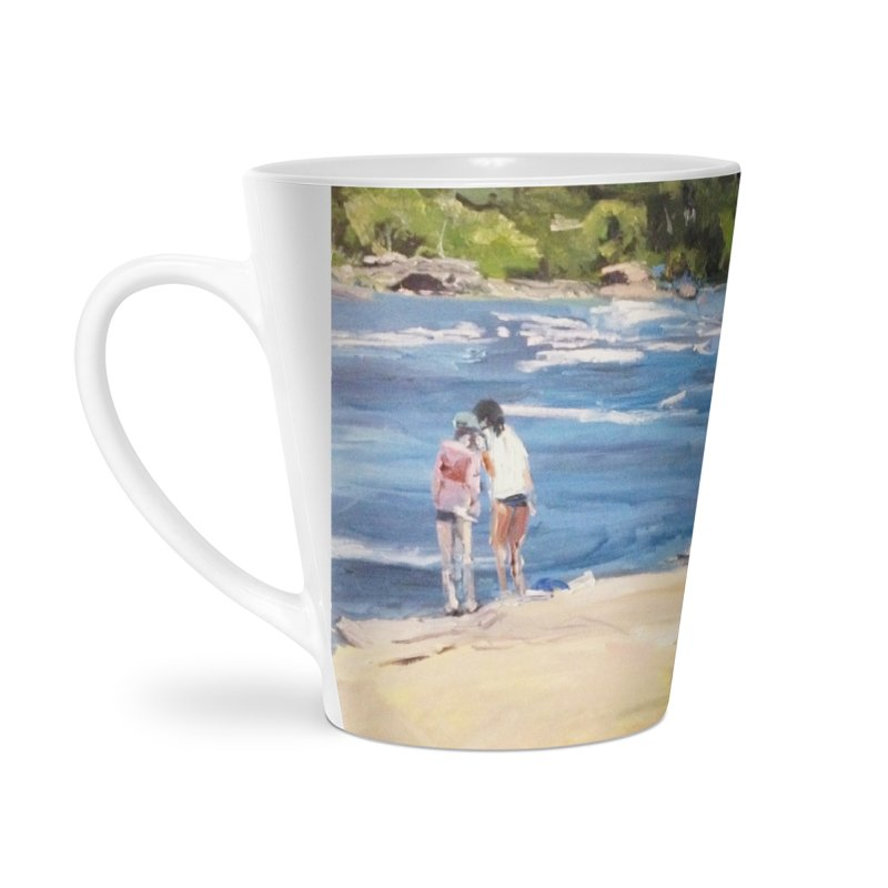 Wednesday Afternoon on Belle Isle Accessories Latte Mug by NatalieGatesArt's Shop
