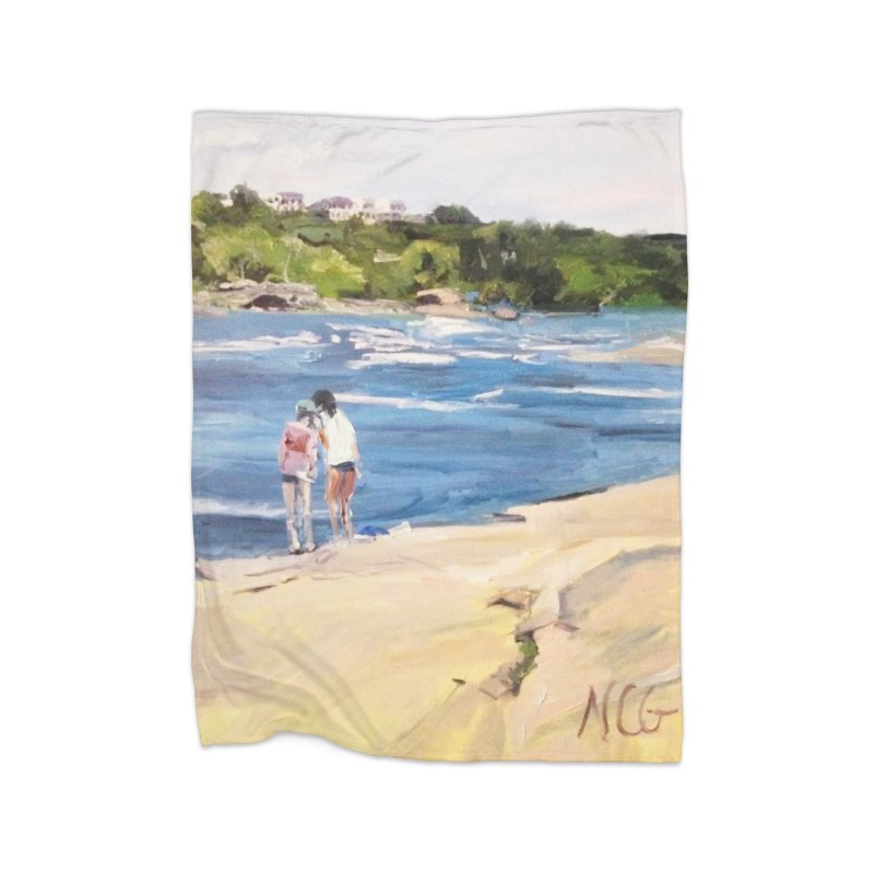 Wednesday Afternoon on Belle Isle Home Blanket by NatalieGatesArt's Shop