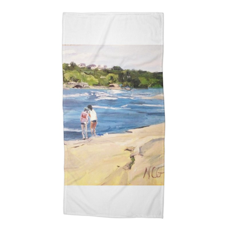 Wednesday Afternoon on Belle Isle Accessories Beach Towel by NatalieGatesArt's Shop