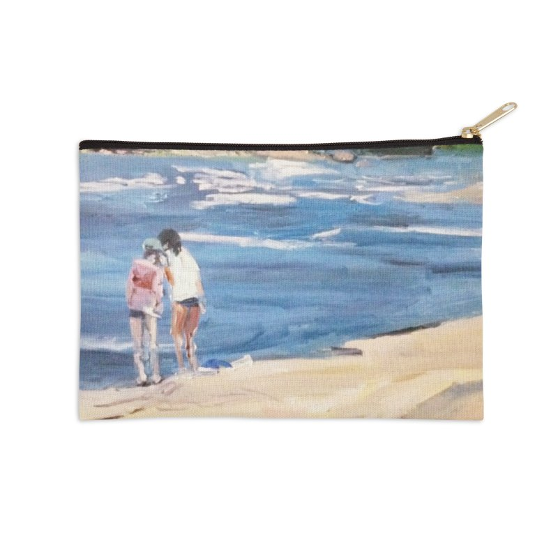 Wednesday Afternoon on Belle Isle Accessories Zip Pouch by NatalieGatesArt's Shop