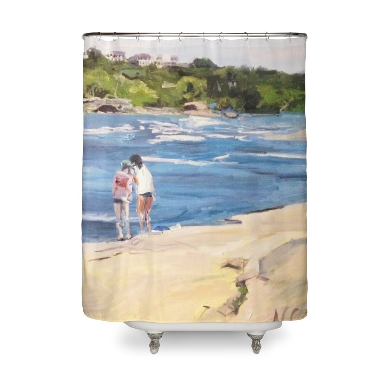 Wednesday Afternoon on Belle Isle Home Shower Curtain by NatalieGatesArt's Shop