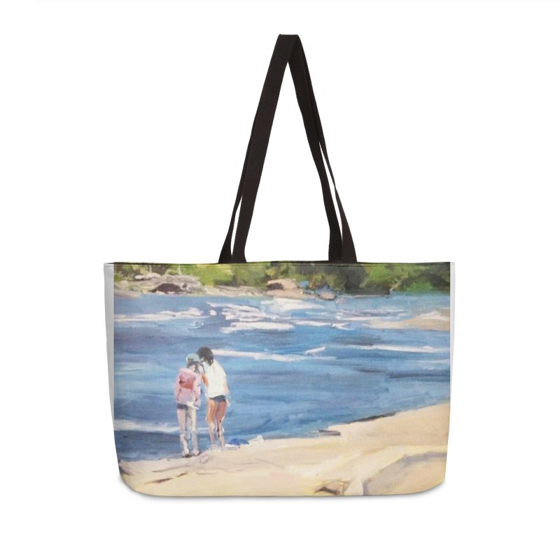 Wednesday Afternoon on Belle Isle Accessories Weekender Bag Bag by NatalieGatesArt's Shop