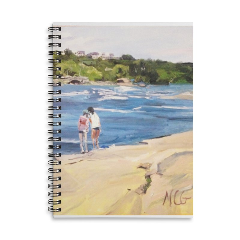 Wednesday Afternoon on Belle Isle Accessories Lined Spiral Notebook by NatalieGatesArt's Shop