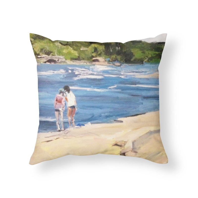 Wednesday Afternoon on Belle Isle Home Throw Pillow by NatalieGatesArt's Shop