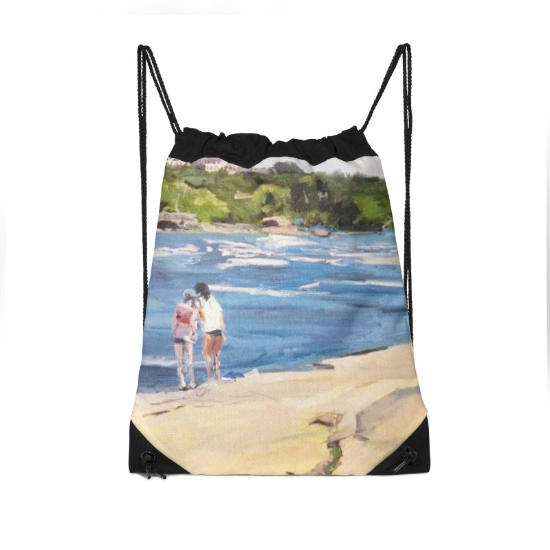 Wednesday Afternoon on Belle Isle Accessories Drawstring Bag Bag by NatalieGatesArt's Shop