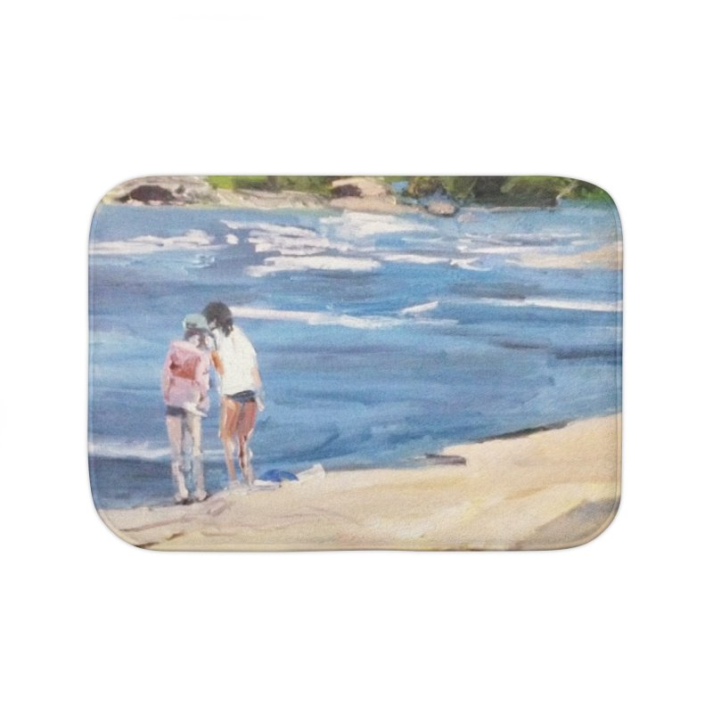 Wednesday Afternoon on Belle Isle Home Bath Mat by NatalieGatesArt's Shop