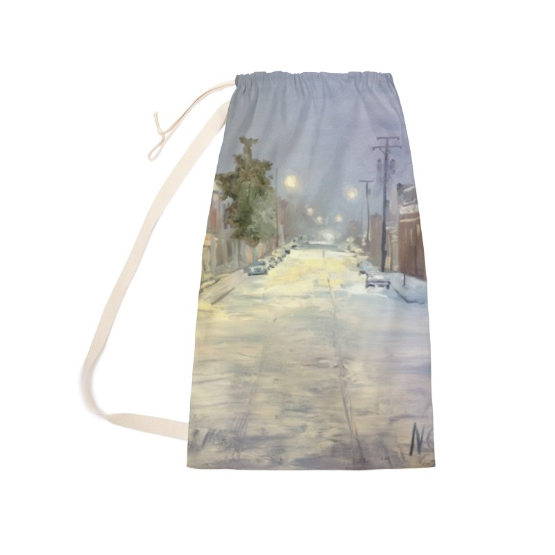 Mulberry and Main, 1AM in the Snow Accessories Bag by NatalieGatesArt's Shop