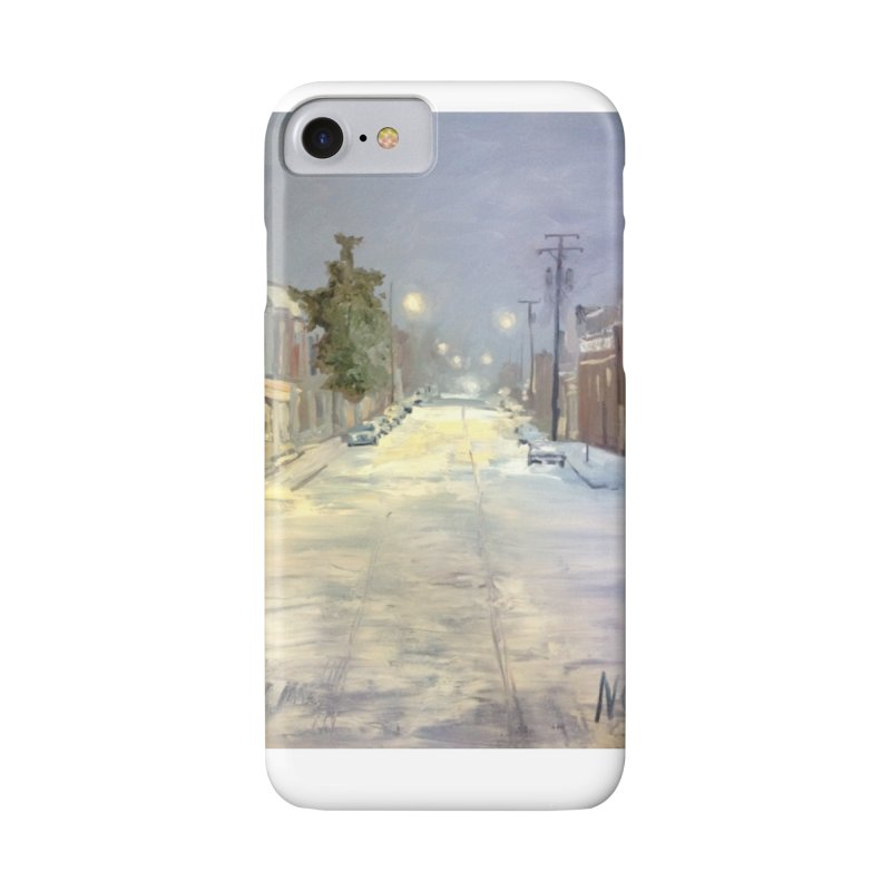 Mulberry and Main, 1AM in the Snow Accessories Phone Case by NatalieGatesArt's Shop