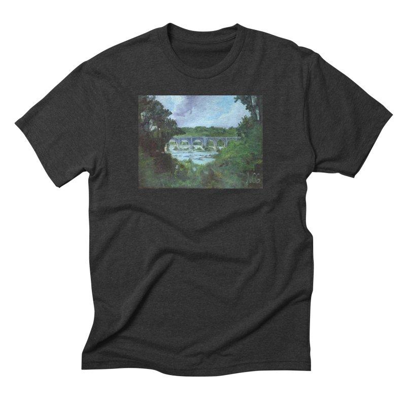 Bridge Over the James, Richmond, VA Men's T-Shirt by NatalieGatesArt's Shop