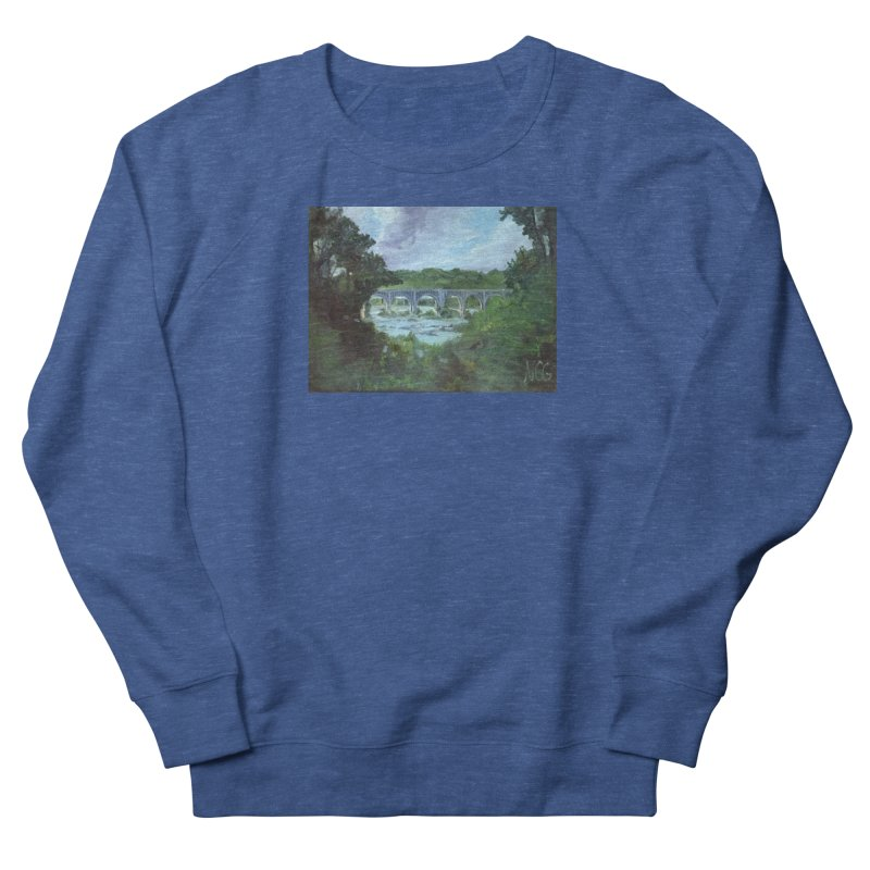 Bridge Over the James, Richmond, VA Men's Sweatshirt by NatalieGatesArt's Shop
