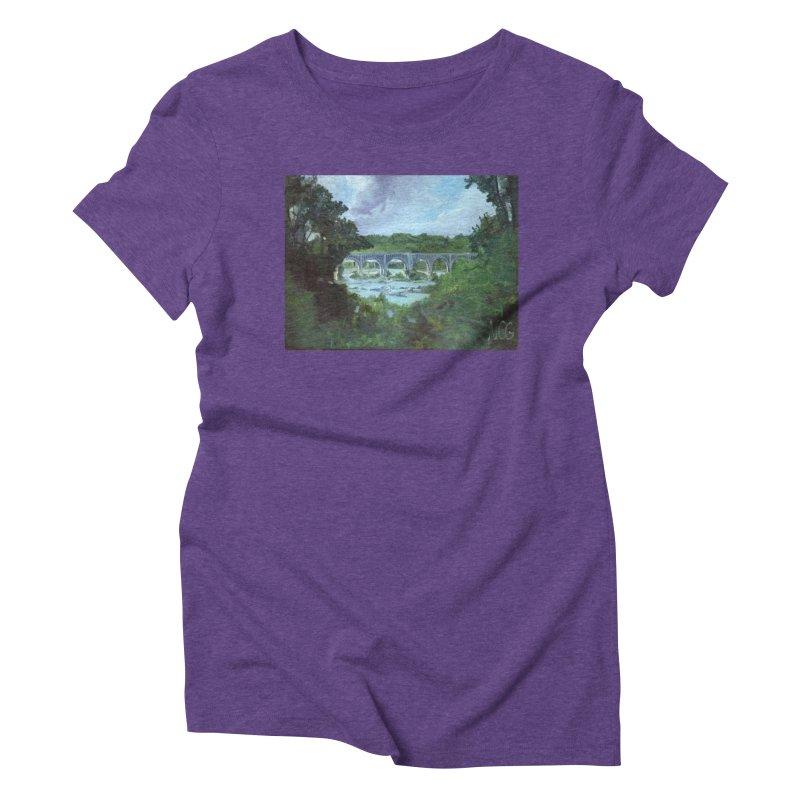 Bridge Over the James, Richmond, VA Women's T-Shirt by NatalieGatesArt's Shop