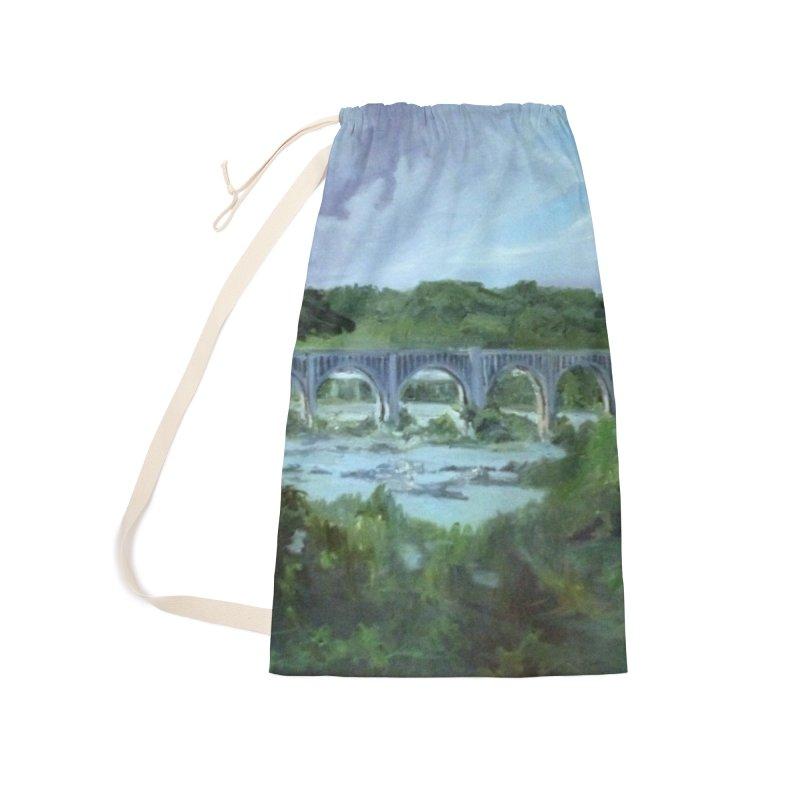 Bridge Over the James, Richmond, VA Accessories Bag by NatalieGatesArt's Shop