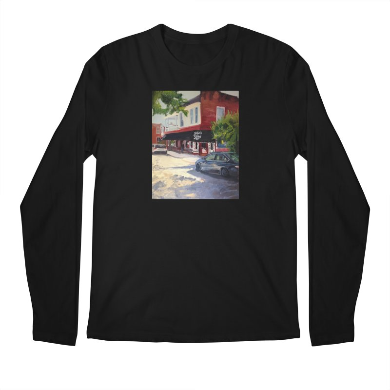 Joe's Inn Men's Regular Longsleeve T-Shirt by NatalieGatesArt's Shop