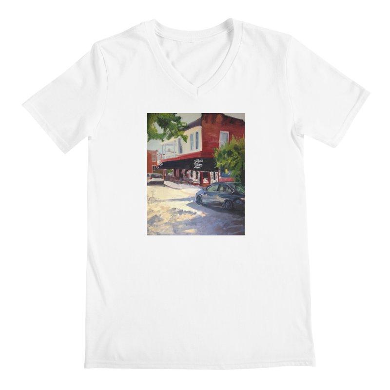 Joe's Inn Men's V-Neck by NatalieGatesArt's Shop