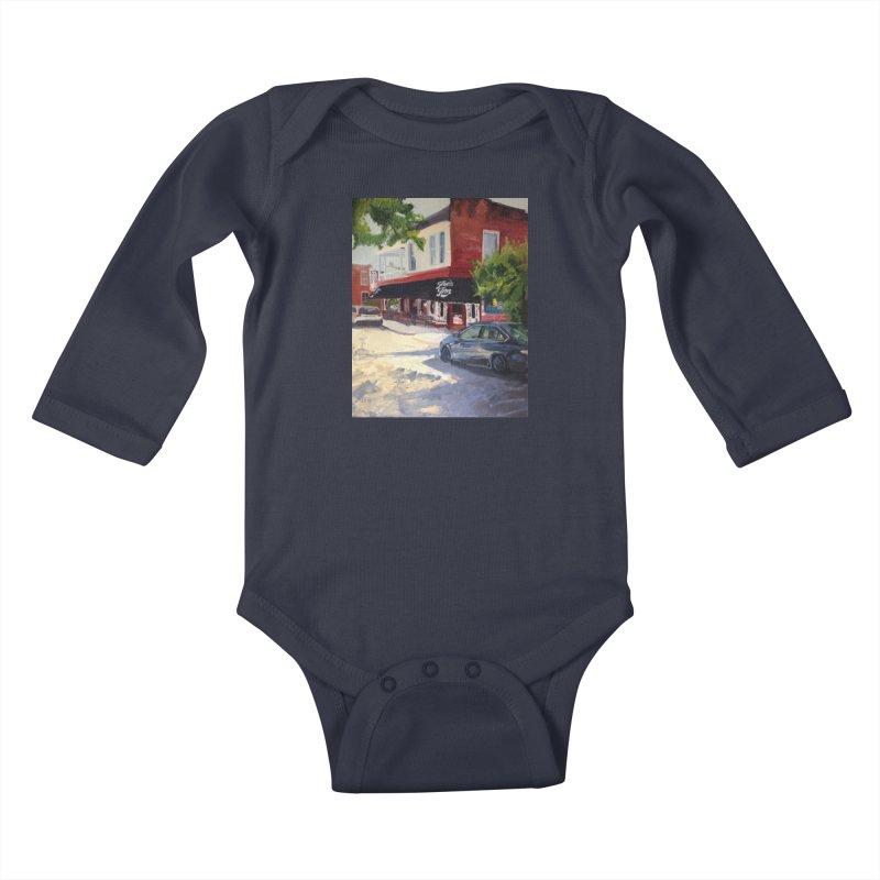 Joe's Inn Kids Baby Longsleeve Bodysuit by NatalieGatesArt's Shop