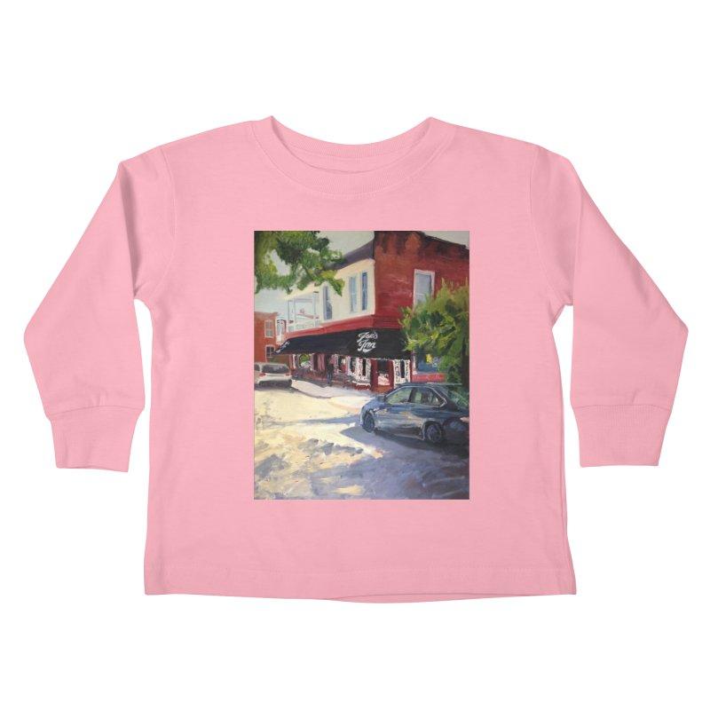 Joe's Inn Kids Toddler Longsleeve T-Shirt by NatalieGatesArt's Shop