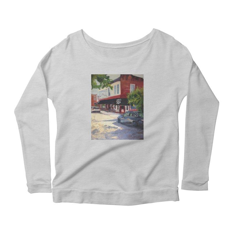 Joe's Inn Women's Scoop Neck Longsleeve T-Shirt by NatalieGatesArt's Shop