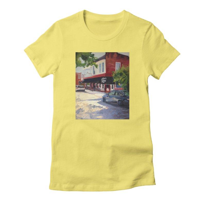 Joe's Inn Women's Fitted T-Shirt by NatalieGatesArt's Shop