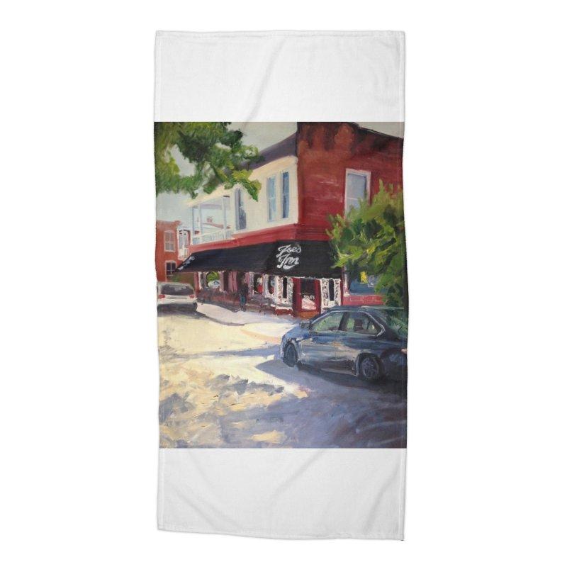 Joe's Inn Accessories Beach Towel by NatalieGatesArt's Shop