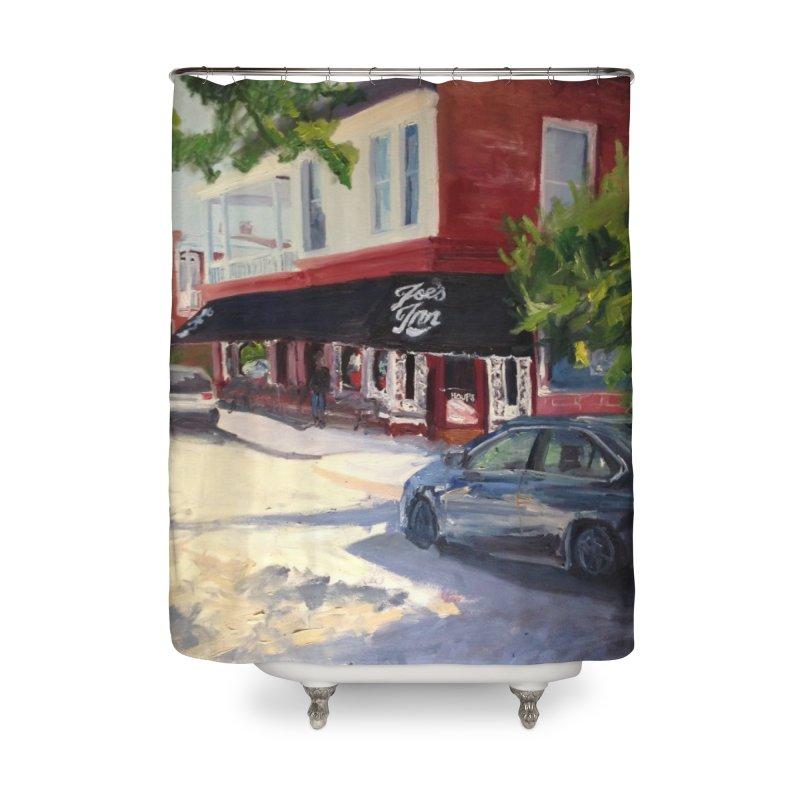Joe's Inn Home Shower Curtain by NatalieGatesArt's Shop