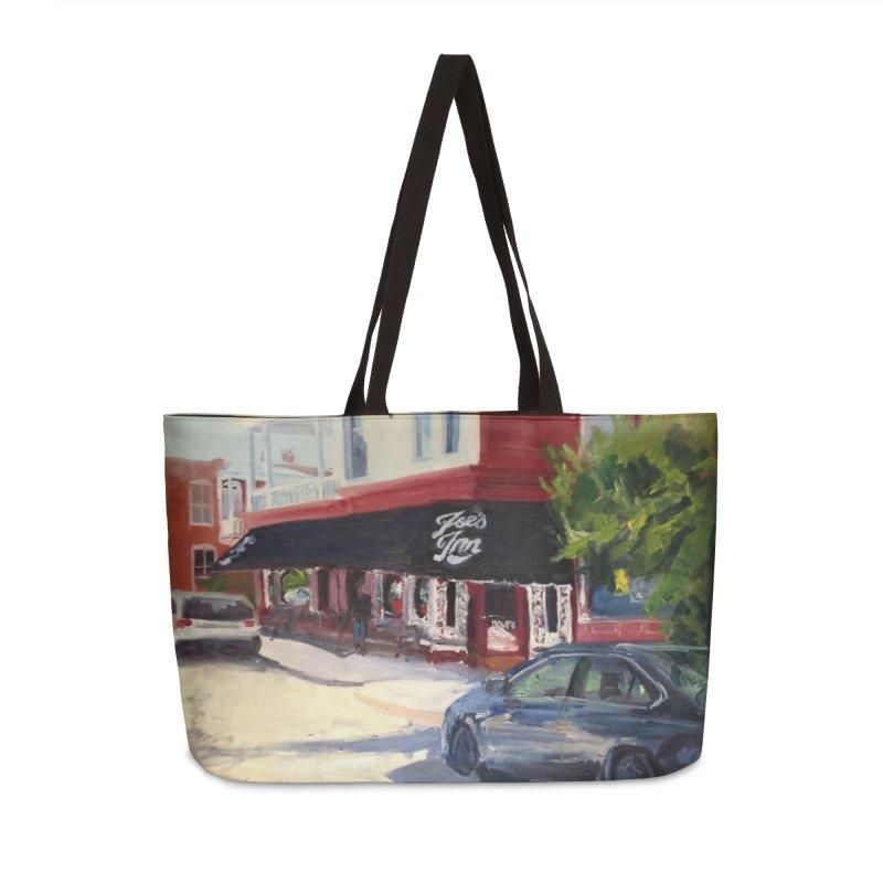 Joe's Inn Accessories Weekender Bag Bag by NatalieGatesArt's Shop