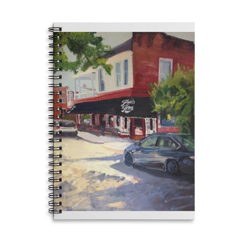 Joe's Inn Accessories Lined Spiral Notebook by NatalieGatesArt's Shop