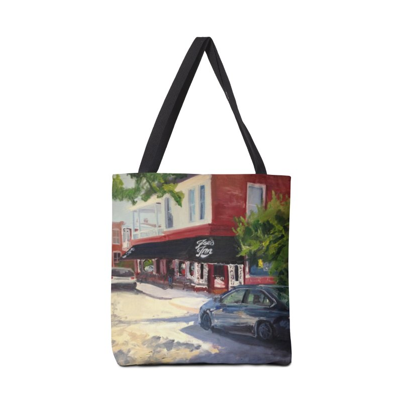 Joe's Inn Accessories Tote Bag Bag by NatalieGatesArt's Shop
