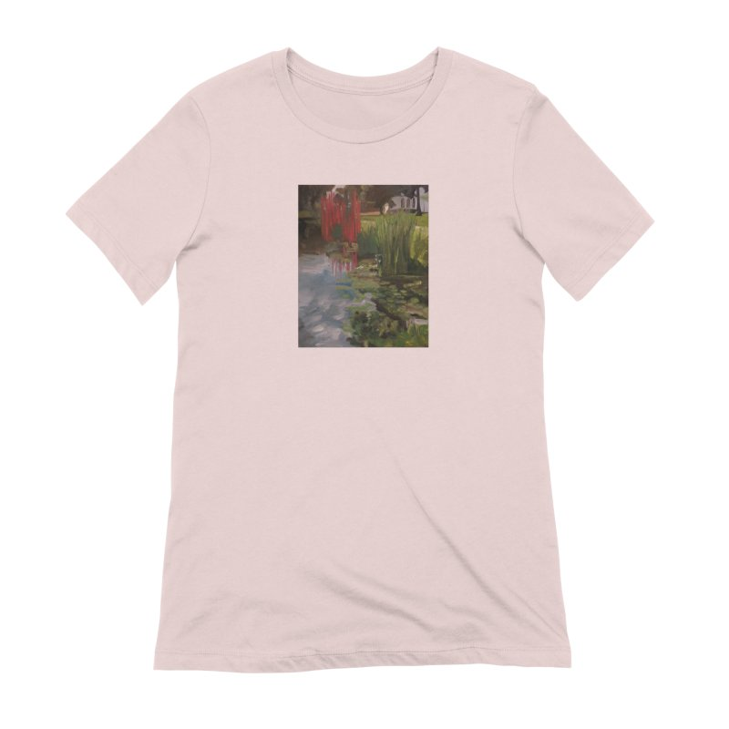 """Chihuly Sculpture and Water Lilies at the VMFA"" Women's Extra Soft T-Shirt by NatalieGatesArt's Shop"