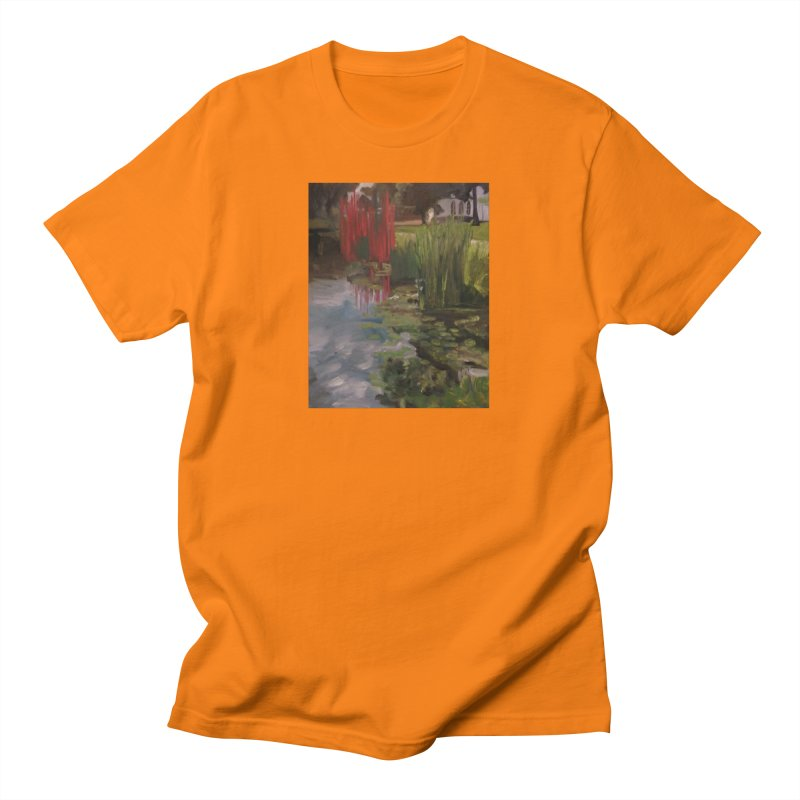 """""""Chihuly Sculpture and Water Lilies at the VMFA"""" Men's T-Shirt by NatalieGatesArt's Shop"""